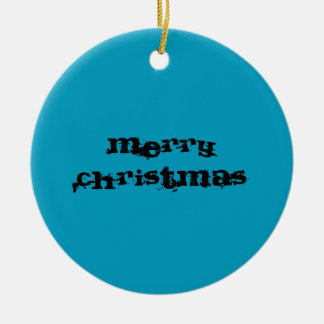 MERRY XMAS AND HAPPY NEW YEAR CHRISTMAS ORNAMENT