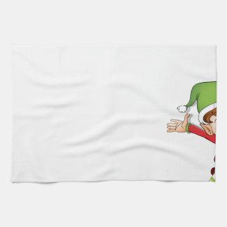 Merry Xmas Hand Towel