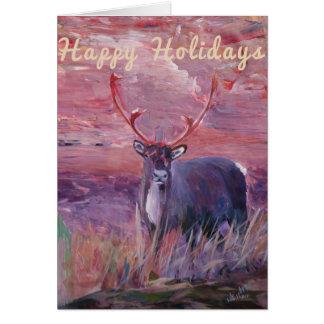 Merry Xmas, Happy Holiday, Felize Navidad, Card