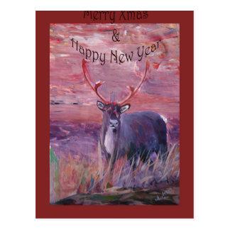 Merry Xmas, Happy Holiday, Felize Navidad, Postcards