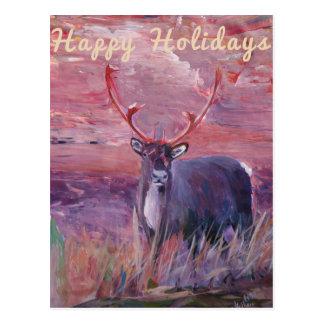 Merry Xmas, Happy Holiday, Felize Navidad, Postcard