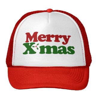 Merry Xmas Mesh Hats