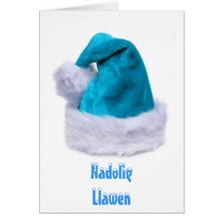 Merry Xmas, Nadolig Llawen Card
