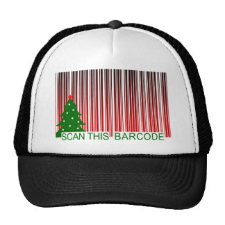 MERRY XMAS : scan this barcode Hat