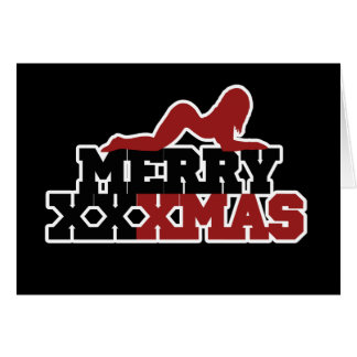 Merry XXXMas Xmas Parody Card