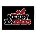 Merry XXXMas Xmas Parody Greeting Card