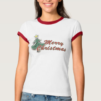 merrychristmas_puffysticker T-Shirt