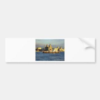 Mersey Ferry & Liverpool Waterfront Bumper Sticker