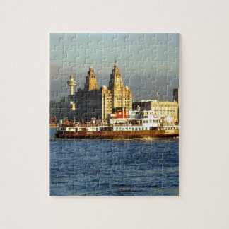 Mersey Ferry & Liverpool Waterfront Puzzle
