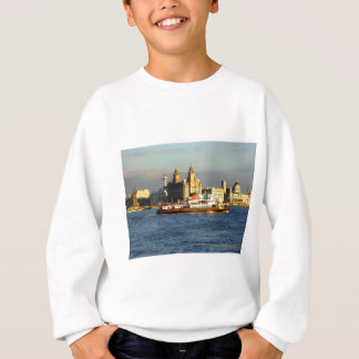 Mersey Ferry & Liverpool Waterfront Sweatshirt