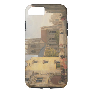 Merton College, Oxford, 1771 (oil on canvas) iPhone 8/7 Case