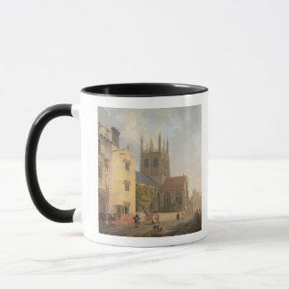 Merton College, Oxford, 1771 (oil on canvas) Mug