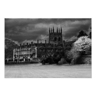 Merton College Oxford Poster