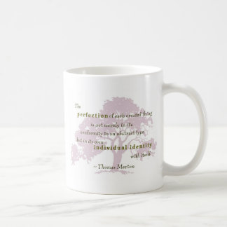 Merton quote perfection 3 coffee mug