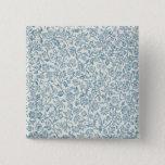 Merton, wallpaper design 15 cm square badge