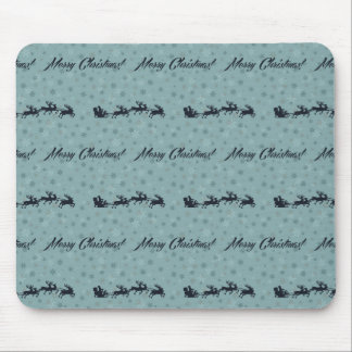 mery christmas and happy new year mouse mat