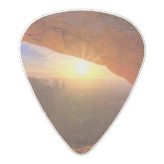 Mesa Arch, Canyonlands National Park Acetal Guitar Pick