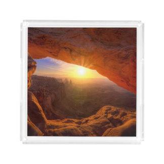 Mesa Arch, Canyonlands National Park Acrylic Tray