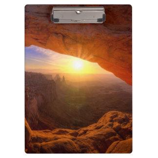 Mesa Arch, Canyonlands National Park Clipboard