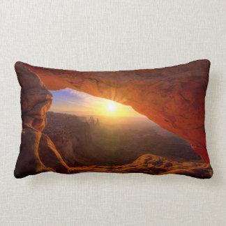 Mesa Arch, Canyonlands National Park Lumbar Cushion