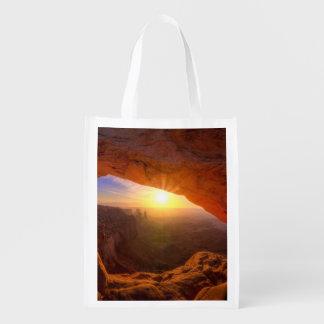 Mesa Arch, Canyonlands National Park Reusable Grocery Bag