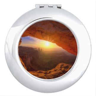 Mesa Arch, Canyonlands National Park Vanity Mirror