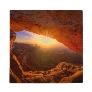 Mesa Arch, Canyonlands National Park Wood Coaster
