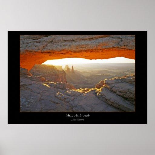 Mesa Arch Poster