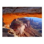 Mesa Arch Sunrise Postcard