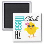 Mesa AZ Chick Square Magnet