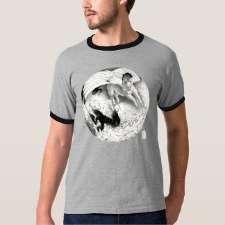 Mesa Pegasus and Nightmare Yin Yang T-Shirt