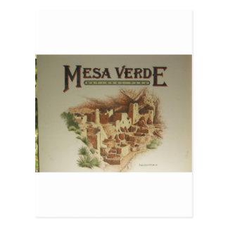 Mesa Verde Anasazi  Dwellings Postcard