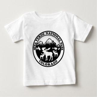 Mesa Verde Nat Park Colorado black white circle T Shirt