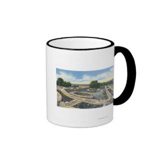 Mesa Verde Nat Park Colorado - Sun Temple Mugs