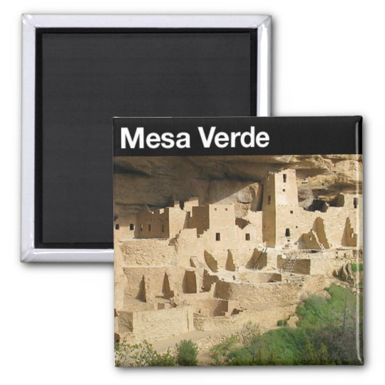 Mesa Verde National Park Square Magnet