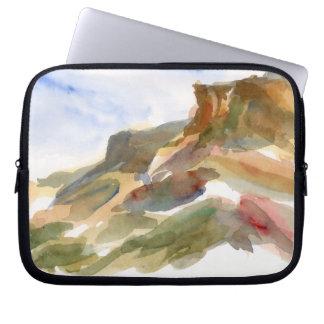 Mesas Watercolor Landscape Laptop Sleeve