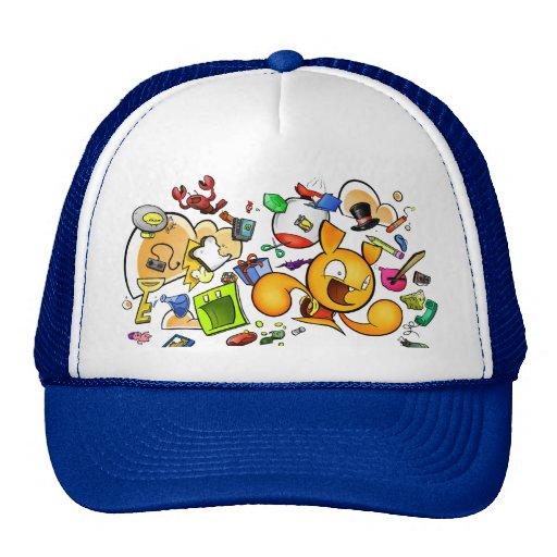 Mesh Brain Helmet Mesh Hat
