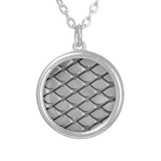 Mesh Fence Necklaces