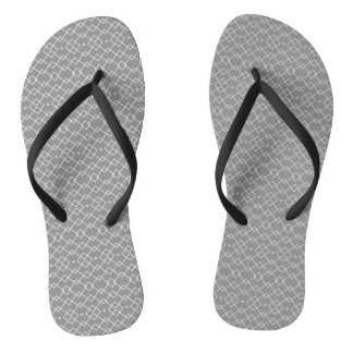 Mesh (grey) flip flops