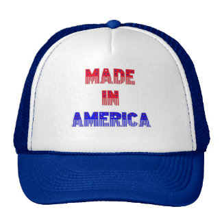 Mesh Hat Made In America