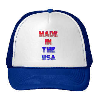 Mesh Hat Made in the USA