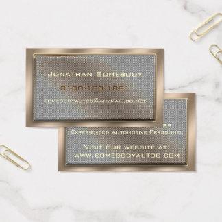 Mesh Panel Business Card