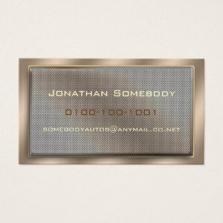 Mesh Panel Business Card Template 7