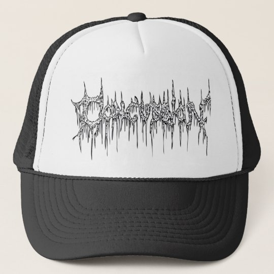 Mesh Trucker Hat - Death Metal