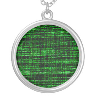 Mesh Weave Abstract green Jewelry