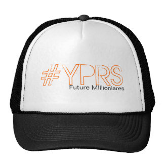 Mesh #YPRS Snapback Cap