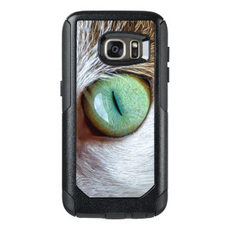 Mesmerizing Green Cat's Eye OtterBox Samsung Galaxy S7 Case