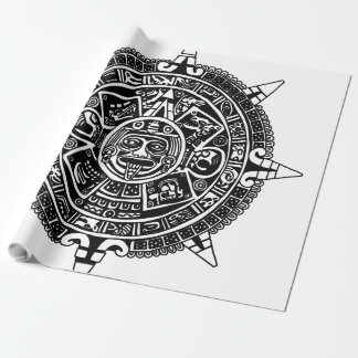 Meso Calendar Wrapping Paper