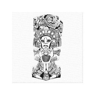 Mesoamerican Shaman Canvas Print