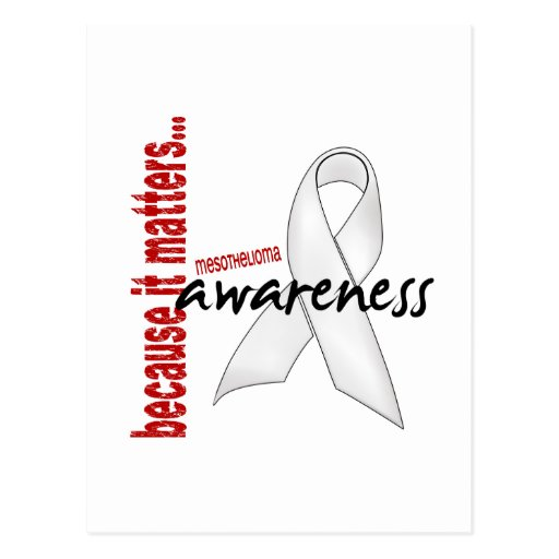 Mesothelioma Awareness Post Cards